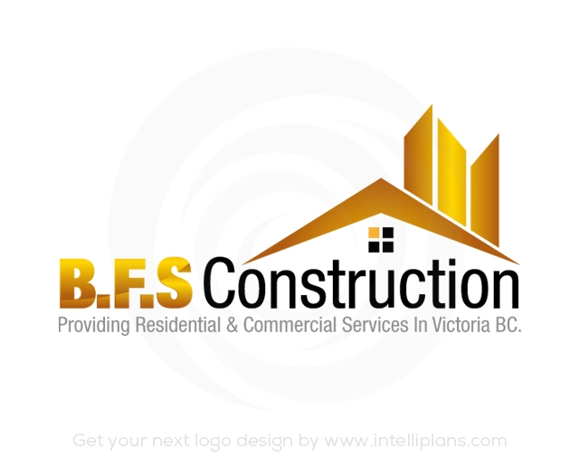Flat Rate Construction and Tools Logos