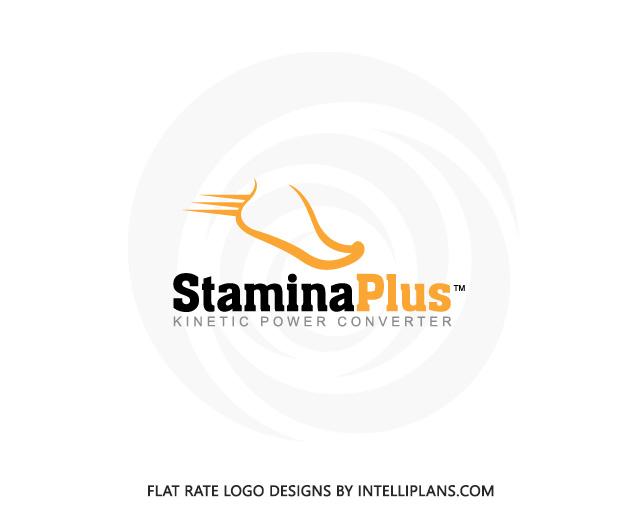 Flat Rate Health Logos Fitness Logos Stamina Plus