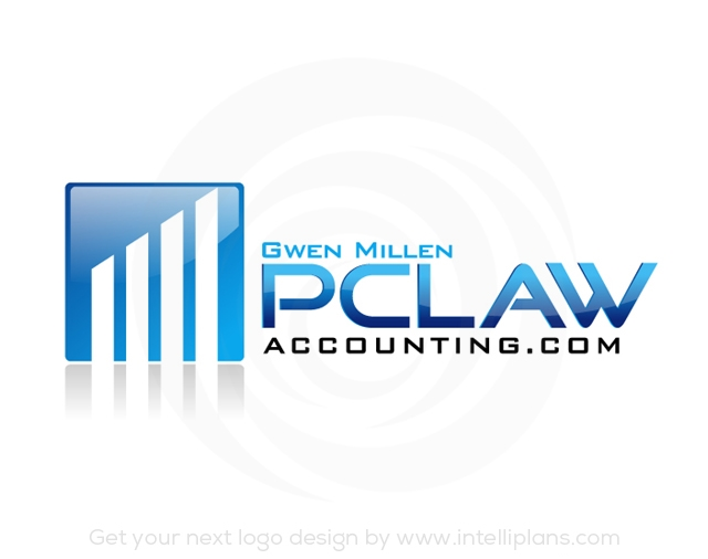 Flat Rate Accounting and Financial Logos