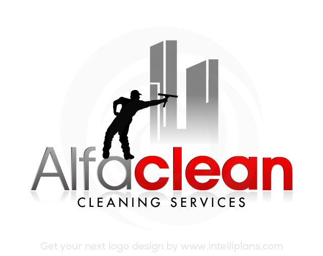 Flat Rate Cleaning Logos