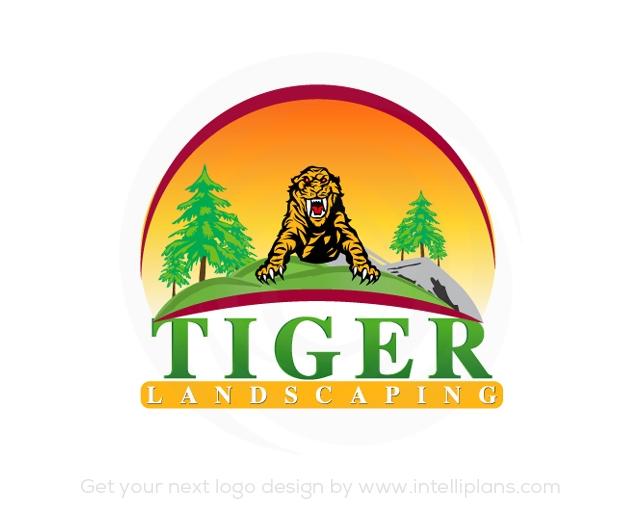 Flat Rate Landscape Logos