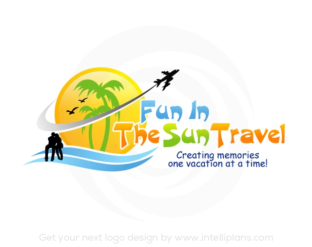 Flat Rate Travel and Tourism Logos