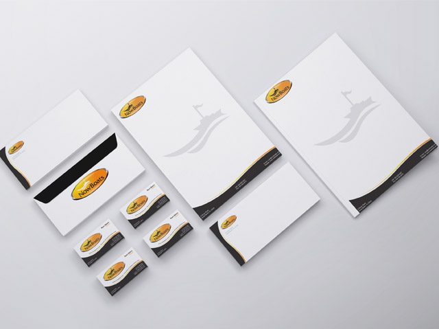 Branding and Corporate Identity for Boating Company