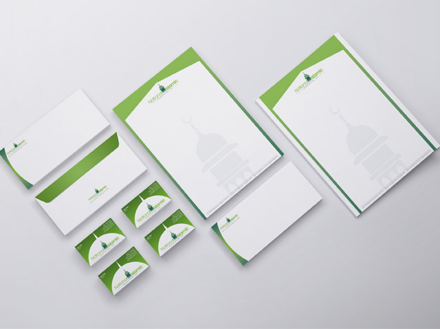 Branding and Corporate Identity for Masjid Mosque