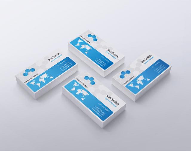 Corporate Business Cards in Bulk 32311